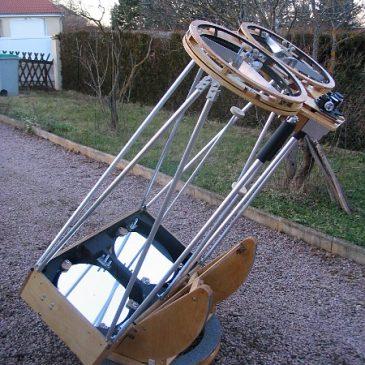 Eric Royer présente son télescope