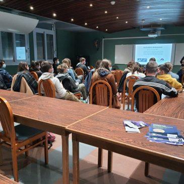 Animation au Lycée de Rochefort Montagne